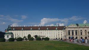 Viena. Heldenplatz.