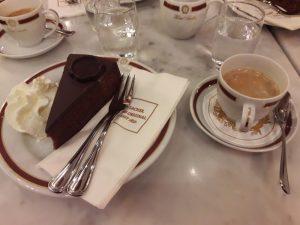 Viena. Hotel Sacher