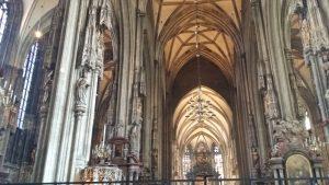 Viena. Catedral de San Esteban. Interior