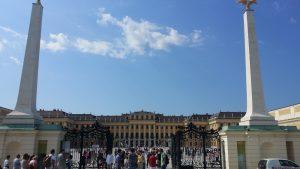 Viena. Palacio de Schönbrunn. Entrada