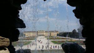 Viena. Palacio de Schönbrunn. Fuente de Neptuno