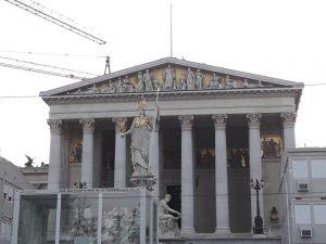 Viena. Parlamento austriaco.