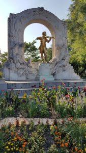 Viena. Stadt park. Johan Strauss