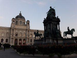 Viena. Theresienplatz