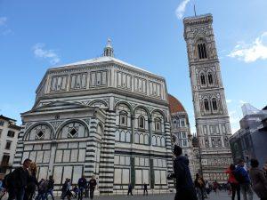 Florencia. Piazza del Duomo. Baptisterio.