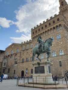 Florencia. Estatua ecuestre Cosimo I de Medici