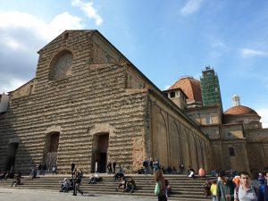 Florencia. Iglesia de San Lorenzo.