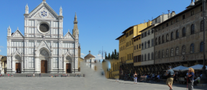 Florencia. Iglesia de la Santa Croce