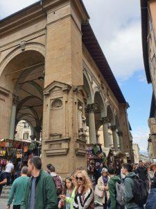 Florencia. Loggia del Mercado Nuevo