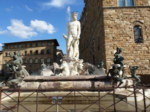 Florencia. Piazza de la Signoria. Fontana di Piazza