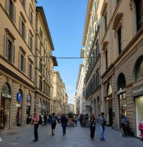 Florencia. vía de Calzaivoli
