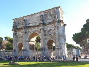 Roma. Arco de Constantino