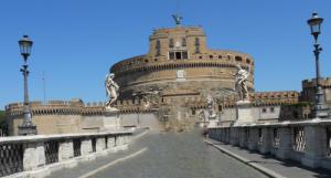 Roma. Vaticano. Castillo de Sant Angelo.