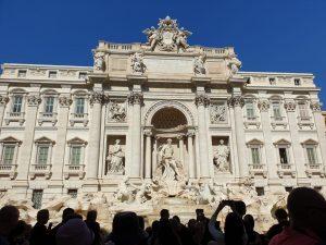 Roma. Fontana de Trevi