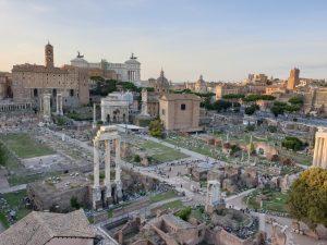 Roma. Foro Romano desde el Palatino