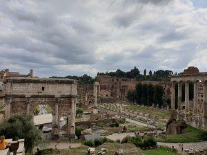 Roma. Foro Romano. Arco de Septimio Severo