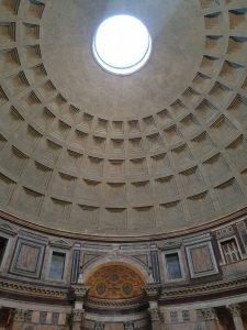 Roma. Interior Panteón.