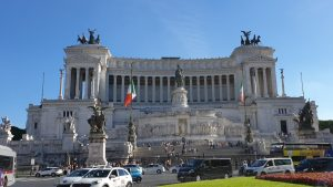 Roma. Monumento a Víctor Manuel II