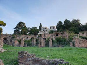 Roma. Orti Farnesiani sur Palatino,