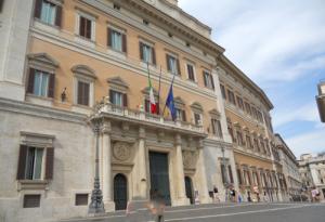 Roma. Palazzo Montecitorio.