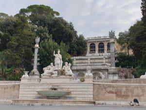 Roma. Fuente de la diosa Roma.