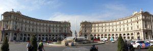 Roma. Piazza della Repubblica.