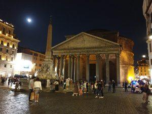 Roma. Fontana del Panteón.