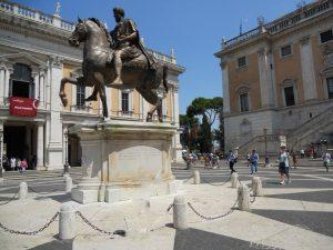 Roma. Plaza del Campidoglio
