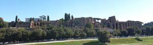 Roma. Restos del Circo Máximo y del palacio Augusto