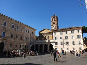 Roma. Santa María en Trastévere