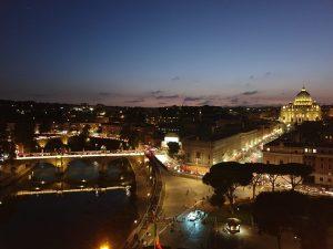 Vaticano. Vista del Vaticano desde el Castillo de Sant Angelo