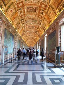Roma. Vaticano. Galería de los Mapas