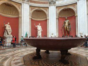 Roma. Vaticano. Museo Pío Clementino. Sala Redonda