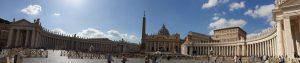 Roma. Vaticano. Plaza de San Pedro