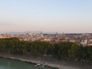 Vaticano. Vista de Roma desde el Castillo de Sant Angelo