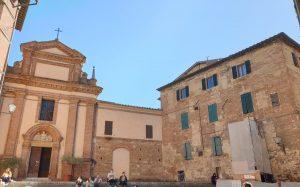 Siena. Iglesia de San Pietro alle Scale