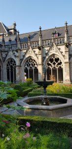 Utrecht. Claustro de la catedral