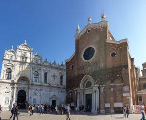 Venecia. Basilica de San Juan y San Pablo.