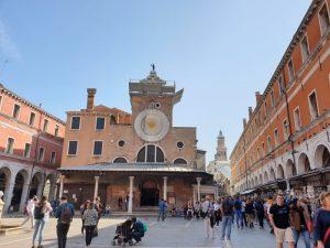 Venecia. San Giacomo de Rialto.