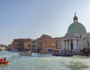 Venecia. Iglesia de San Simeón Piccolo