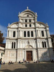 Venecia. Iglesia de San Zacarías.