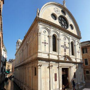 Venecia. Santa María de los Milagros