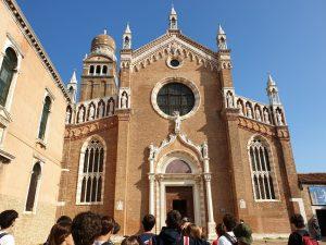 Venecia. Iglesia de la Madonna dell`Orto