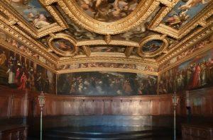 Venecia. Palazzo Ducale. Sala del Maggior Consiglio