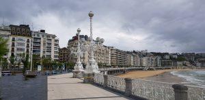 San Sebastián. Paseo de La Concha