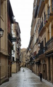 San Sebastián. Parte Vieja. Calle 31 de agosto