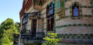 Comillas. Capricho de Gaudí.