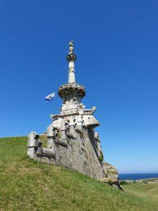 Comillas. Monumento al Marqués de Comillas.