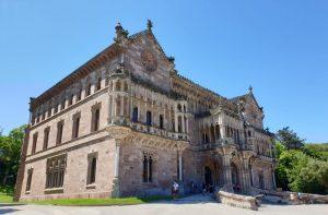Comillas. Palacio de Sobrellano