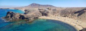 Punta del Papagayo. Lanzarote. Canarias. España